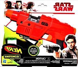 NIB Nerf Star Wars Glowstrike Poe Dameron Cassian Andor Qi'R