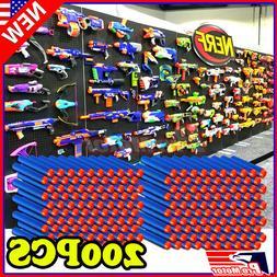 Blue 7.3cm 200PCS Refill Bullet Darts for Nerf toy Gun N-str