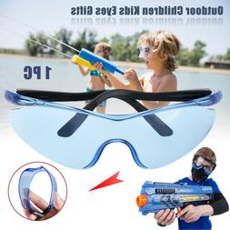 Plastic Safety Protect Eyes Glasses For Nerf Outdoor Game Gu