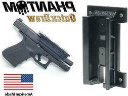 Phantom Quickdraw - Magnetic Gun Mount & Holster - Concealed