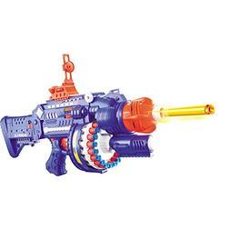 rapid rotating barrel attack blaster