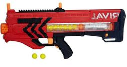 New Red Nerf Rival Zeus MXV 1200 Blaster Accurate Soft Objec