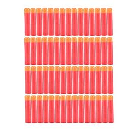 Yosoo 30-120pcs 9.5cm Red Soft Mega Refill Bullet Darts Foam