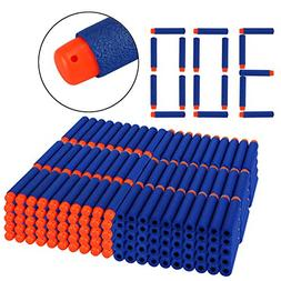 Dreampark Refill Bullet Darts 300 PCS for N-Strike Elite Bla