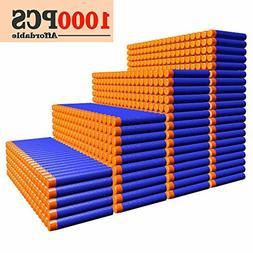 Refill Darts 1000PCS Ammo Bulk Bullets Pack for Nerf N-Strik