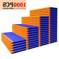AMOSTING Refill Darts 1000PCS Ammo Bulk Bullets Pack for Ner