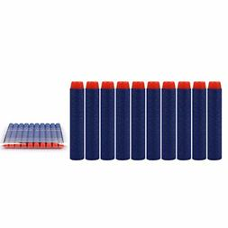 New 100PCS Refill Deep Blue Bullets Dart For Nerf N-strike E