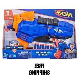 Nerf Rukkus ICS-8 Nerf Guns For Boys Nerf N Strike Elite Gun