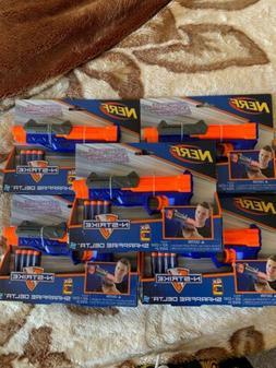 Sharpfire Delta Nerf N-Strike Single Fire Lot Of 5 2015 Rare