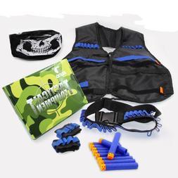 Skull Mask Tactical Equipment Set Of Ekind Kit For Nerf N-st