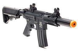 Black Ops SR4 CQB AEG Rifle - Electric Fully Automatic Airso
