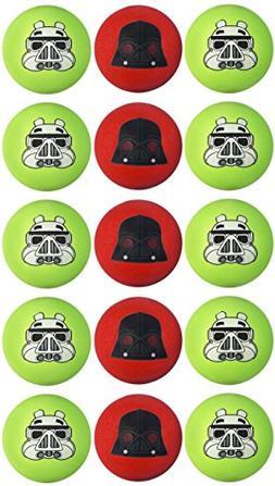 Star Wars Angry Birds Galactic Empire Bundle of 15 Koosh Bal
