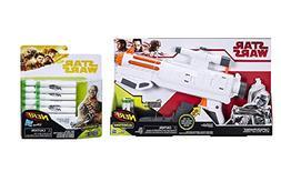 Nerf Star Wars Captain Phasma Blaster + 14x Extra Dart Refil