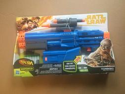 NERF Star Wars Chewbacca Blaster ,New!