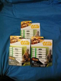 NERF Star Wars GlowStrike 14 Dart Refill Pack lot .Disney Ha