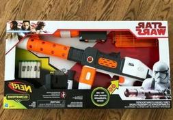 STAR WARS NERF GUN FIRST ORDER HEAVY GUNNER STORMTROOPER GLO