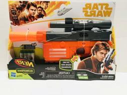 Star Wars Nerf Gun Glowstrike Han Solo Blaster