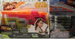 Nerf Star Wars Qi'ra Solo GlowstrikeBlaster Gun With Glow Da