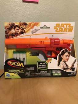 Star Wars Nerf Qi'Ra Blaster Light Up With Sounds