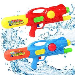 2 Pack Super Blaster Water Gun Soaker Toy for Kids