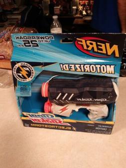 NERF Super Soaker Electrostorm Motorized Squirt Water Gun
