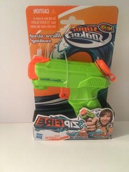 Brand New NERF Super Soaker ZIP FIRE Blaster ~ Mini Water Pi