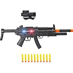 Liberty Imports SWAT Special Forces MP5 SMG Machine Gun Elec