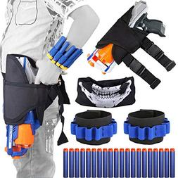 Kids Tactical Nerf Waist Bag Holster Kit For Nerf Gun N-stri