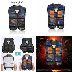Yosoo Kids Tactical Vest for Eva Nerf Gun N-Strike Elite Ser