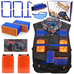 23Toyz Tactical Vest Kit for Nerf Guns N-strike Elite Series