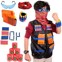 Aveilo Tactical Vest Kit For Nerf Guns N-Strike Elite Series