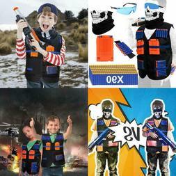 Tactical Vest Kit for Nerf Guns Boys N-Strike Elite Series S