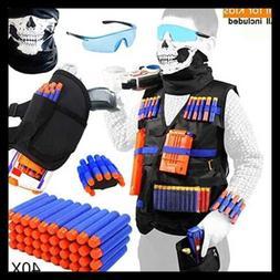 tactical vest kit for nerf guns boys