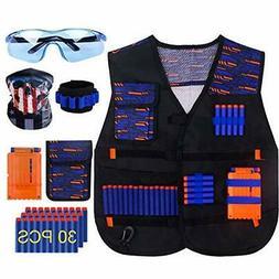 KOSIN Tactical Vest Kit For Nerf Guns N-strike Elite Series