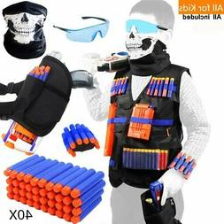 Tactical Vest Kit for Nerf Guns for boys N-Strike Elite Seri