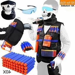 Tactical Vest Kit For Nerf Guns Boys N Strike Elite Series W
