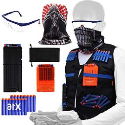 Tactical Vest Kit for Nerf Guns N-Strike Elite Series with T