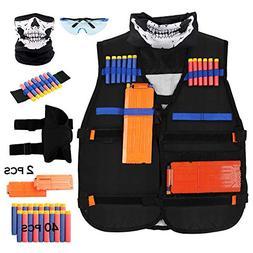 Udoop Tactical Vest Kits for Nerf Guns N-Strike Elite Series