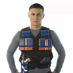 Tactical Vest Kids Toy Gun Clip Jacket Foam Bullet Ammunitio