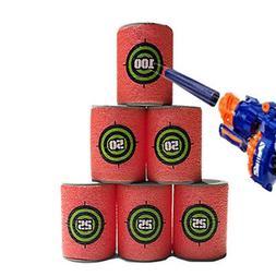Target Bullet Nerf N Strike Gun Elite Darts Soft Toy Dart Bl