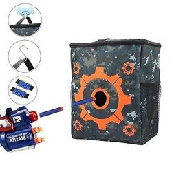 Target Pouch Storage Bag for Tactical Nerf Gun Games with 2