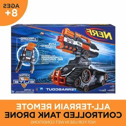 TerraScout Nerf Toy RC Drone N-Strike Elite Blaster with Liv