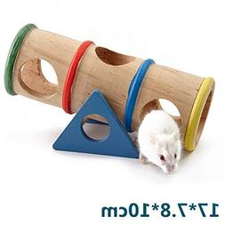 Toys - Home Hamster Product Rainbow Upturned Barrel Toy Pet