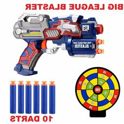 Toys For Boys Kids Foam Blaster Gun Big League Heroic Toy Fo