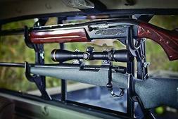 Truck Double Mount Rifle Shotgun Car Bow Holder Rear Window