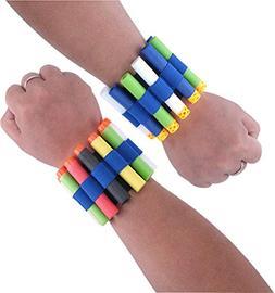 UMFunChristmas Gift Vest Quick Reload Clips Foam Wristband B