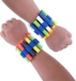 E-SCENERY Vest Quick Reload Clips Foam Hand Wrist Band Brace