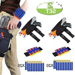 POKONBOY Waistband Compatible with Nerf Guns - 2-Pack Kids T