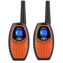 YZGE Walkie Talkies Kids Toys 22-Channel Long Range FRS/GMRS