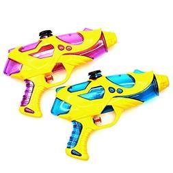 Fstop Labs 2 Pack Water Gun, Water Squirt Guns, Soaker for K